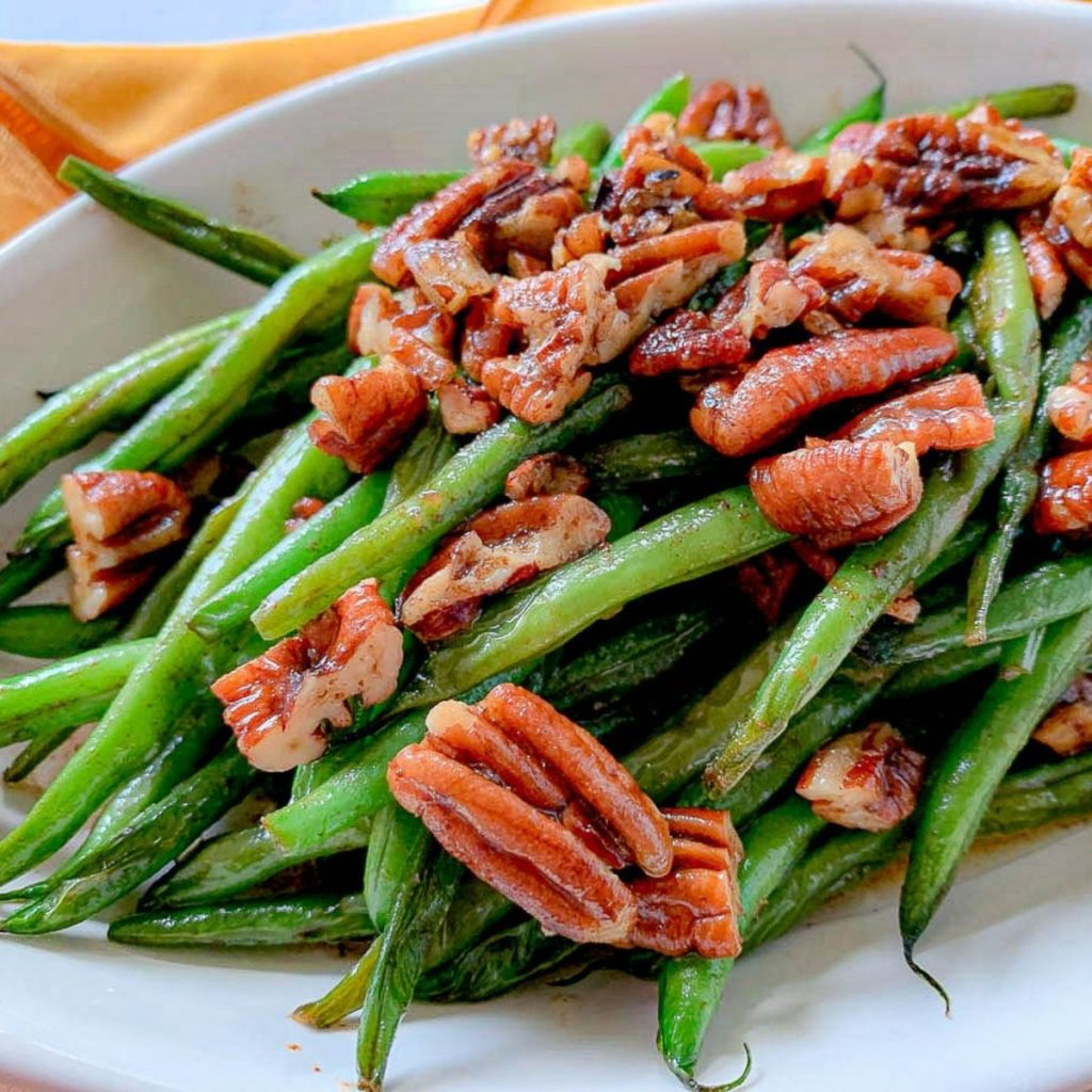 featured image for French Beans in Brown Butter