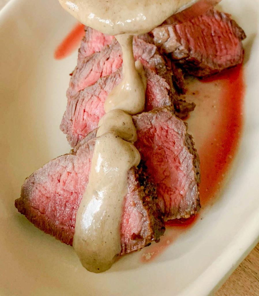 Classic Au Poivre Sauce For Steak