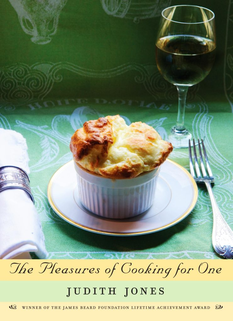 a book with a soufflé on the cover