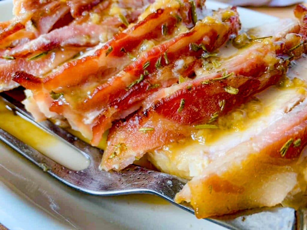 Smoked Bacon Wrapped Pork Loin