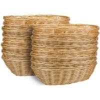 a stack of baskets