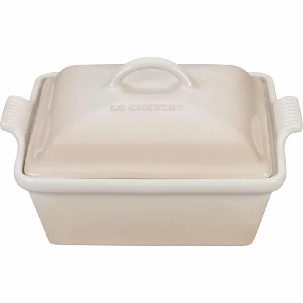 a casserole dish with a lid