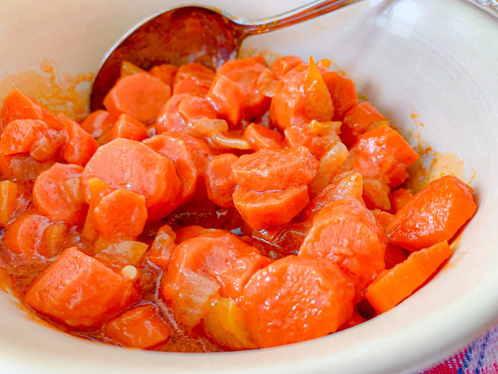 Sweet And Tangy Carrots
